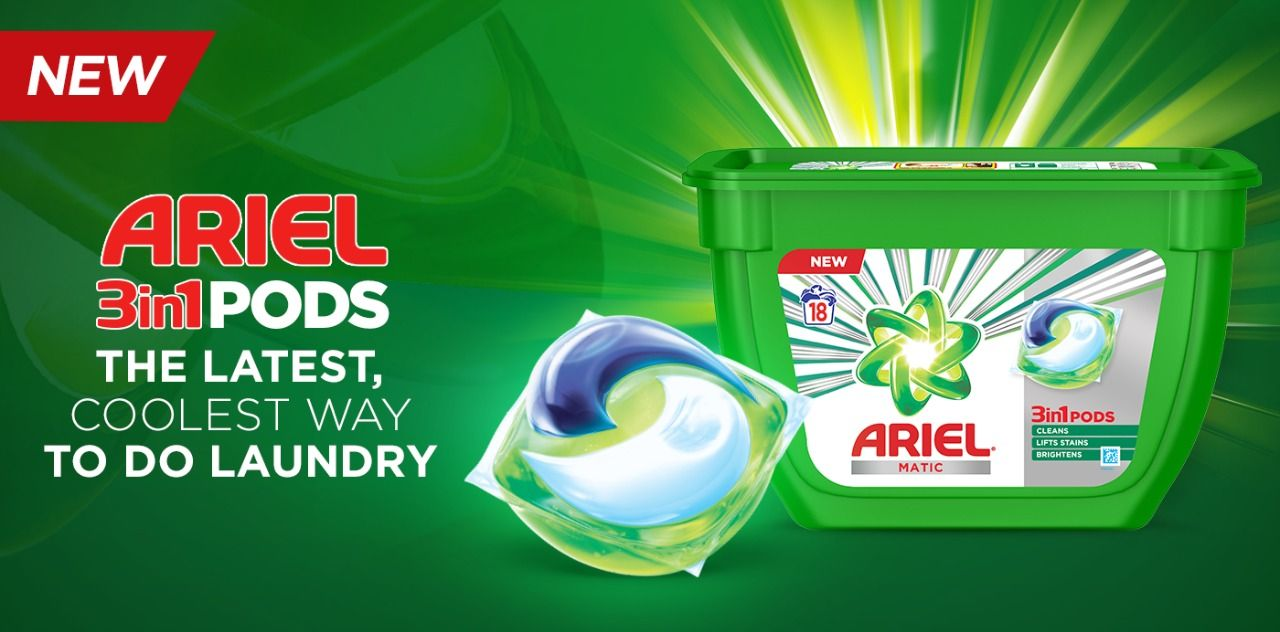 Laundry Redefined: Ariel Pods Launched In India