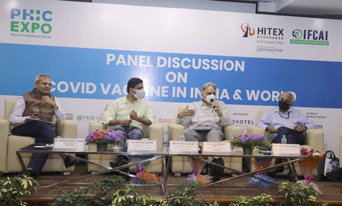The 3rd Wave if at all hits anytime in near future it will be insignificant compared to 2nd wave: Experts at a Panel Discussion